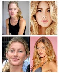 what do models look like without makeup