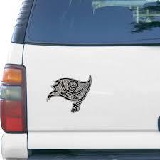 Tampa Bay Buccaneers Bling Emblem Car Decal