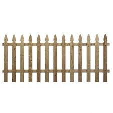 Pressure Treated Pine French Gothic Fence Us Barricades U S Barricades Traffic Control Pedestrian Safety Products