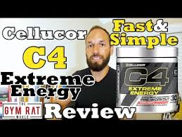 c4 extreme energy pre workout