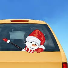Autcarible Wiper Sticker Santa Adhesive Car Decal For Decor Walmart Com Walmart Com