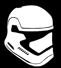 Star Wars Inspired First Order Storm Trooper Vinyl Decal Etsy