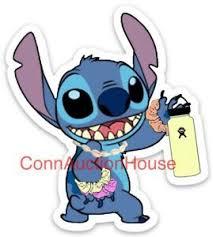 Lilo And Stitch Sticker Water Bottle Laptop Phone Disney Decal Vsco Girl Ebay
