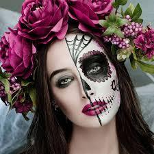 21 y halloween face makeup ideas