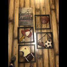 Hobby Lobby Wall Art Kids Sport Metal Room Decor Poshmark
