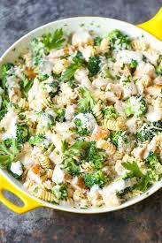 en and broccoli alfredo