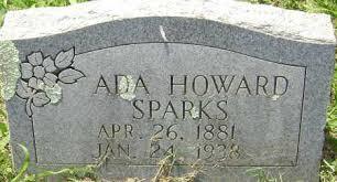 HOWARD JONES, ADA - Lawrence County, Arkansas | ADA HOWARD JONES - Arkansas  Gravestone Photos