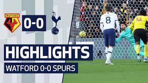 HIGHLIGHTS | WATFORD 0-0 SPURS | PAULO GAZZANIGA PENALTY SAVE ...