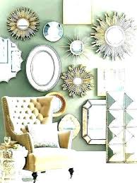 agreeable round wall mirrors for living