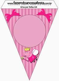 Peppa Pig Hada Imprimibles Imagenes Y Fondos Gratis Para Fiestas