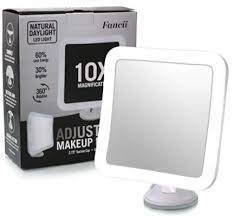 10x magnifying lighted makeup mirrors