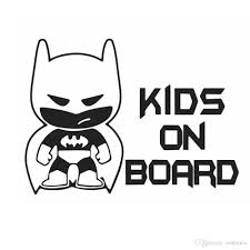 2020 Funny Batman Kid On Board Auto Vinyl Sticker Car Window Bumper Sticker Decals Car Styling Wholesale From Ordermix 0 6 Dhgate Com