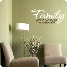 A Wonderful Design Focusing On One Of Life 39 S Most Important Things Family Quot Family Forever For Family Wall Decals Family Wall Wall Decor Pictures