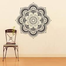 Mandala Vinyl Wall Decal Yoga Sticker Menhdi Lotus Large Pattern Ornament Indian Mural Wall Stickers Home Decor Living Room Wall Decals And Stickers Wall Decals Art From Chairdesk 8 67 Dhgate Com