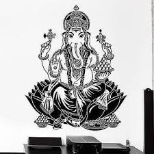 Best Ganesha Wall Decal Products On Wanelo