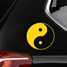 Hotmeini Car Sticker Jdm Decoration Yin Yang Peace Spiritual Ying Window Bumper Vinyl Truck Body Decal Reflective Kayak 13 13cm Shop The Nation