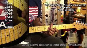 NEVER GONNA GET IT En Vogue Funk Guitar ...