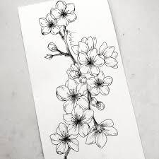 Pin de Adeline Dixon en Journals   Bocetos de flores, Cómo dibujar  tatuajes, Tatuajes florales