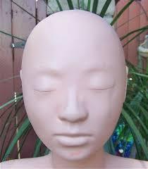 lisa mannequin head makeup bust wig hat