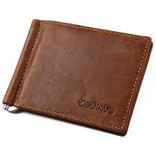 genuine leather purse men wallet money