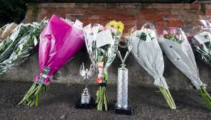 Flowers laid in water where 12-year-old Ava Gray died as dance trophy  placed among tributes in Balloch