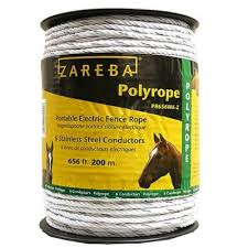 Zareba 656 Ft White Poly Rope At Tractor Supply Co