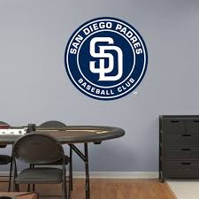 San Diego Padres Logo Real Big Fathead Wall Graphic San Diego Padres Wall Decal Sports Decor Baseball Bedroom Man Cave Nur Sports Wall Decals San Diego Padres Football Wall