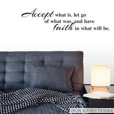 Accept Have Faith Quote Decal For Walls By Wallums