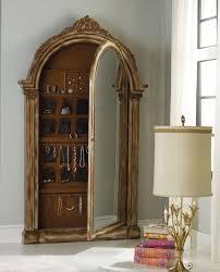 vera floor mirror with jewelry armoire