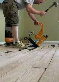 hardwood floor nailer or stapler