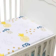 Bé Sơ Sinh Lắp Cũi Sheets130 * 70 Cm Hoạt Hình In Giường Ngủ Cho Bé Nệm Có  Cho Trẻ Em Unisex Bé Trai bé Gái|
