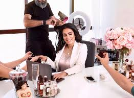 the middle east s top beauty influencers