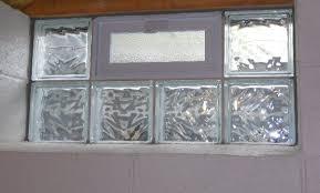 glass block design window idea decor