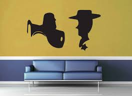 Buzz And Woody Silhouette Set Wall Decal Geekerymade
