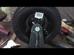 Making A Heavy Duty Gate Wheel Youtube