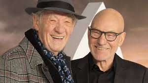Sir Ian McKellen recorded a very sweet video for Sir Patrick ...