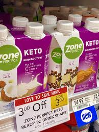 zoneperfect keto shakes for on the go