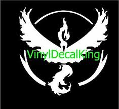 Car Window Laptop Vinyl Decal Sticker Pokemon 4x Pokemon Go Team Mystic Symbol Auto Parts And Vehicles Car Truck Graphics Decals Magenta Cl