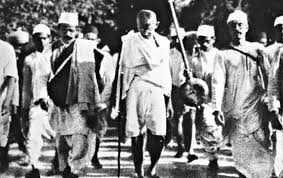 movements Independence Mahatma Gandhi detail short trick