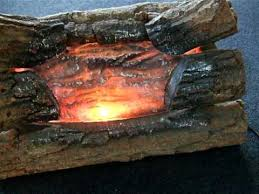 electric fire logs with ling sound