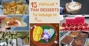 the most delightful popular thai desserts to indulge in