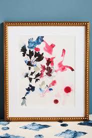 jen garrido pink fl watercolor wall art