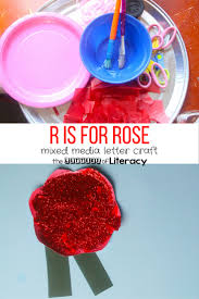 letter r craft r is for rose the