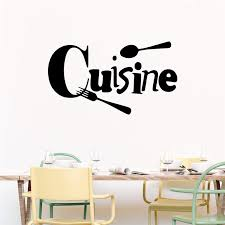 Creative Cuisine Quotes Wall Stickers Kitchen Dining Room Home Decor Accessories Wall Decals Vinyl Mural Art Diy Wallpaper Buy At The Price Of 3 88 In Aliexpress Com Imall Com