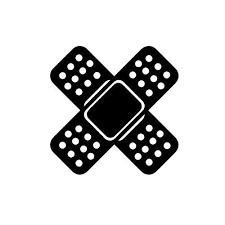 Ooops Bandage Vinyl Sticker Greshams Powersports