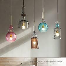 glass pendant lamp hanging lighting