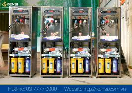 Cây nước nóng lạnh tích hợp RO Kensi được lắp đặt tại khu du lịch Sun Word