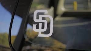 Major League Baseball San Diego Padres Vinyl Decal Sticker For Etsy
