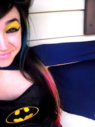 batman inspired makeup how to create