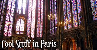 stained glass at sainte chappelle